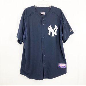 Majestic Official NY Yankees Baseball Jersey, XL
